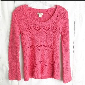 🌻BUY 1 GET 1 FREE LUCKY BRAND CROCHET LONG SLEEVE